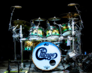 DW Drum Set for Chicago 2019 TourPhoto by Cindy Hurt