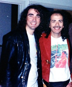 Blast from the Past! With Santana 1989 tour