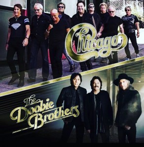 Chicago/Doobie Brothers Tour 2017