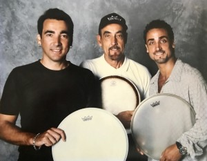 REMO Drumheads ad of me, my dad and my brother Daniel de los Reyes late 90s