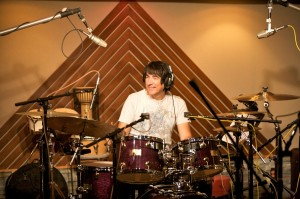 Recording drums for Pianist Matt Rohde project