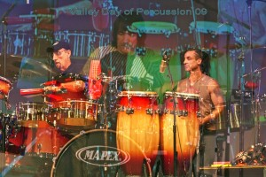 """Valley Day of Percussion"" with my brother Danny and my father Walfredo Sr.,Texas"